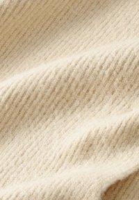 TOM TAILOR - IN RIPP-OPTIK - Scarf - warm sand melange - 1