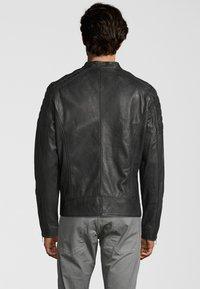 Capitano - IOWA - Leather jacket - anthracite - 2