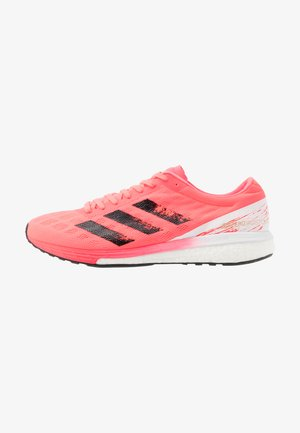 ADIZERO BOSTON 9 M - Löparskor stabilitet - signal pink/core black/copper metallic