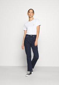Tommy Jeans - REGULAR C NECK - Basic T-shirt - white - 1