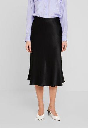 ODILE - Áčková sukně - black
