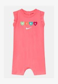 Nike Sportswear - RUFFLE SLEEVE  - Jumpsuit - sunset pulse - 0