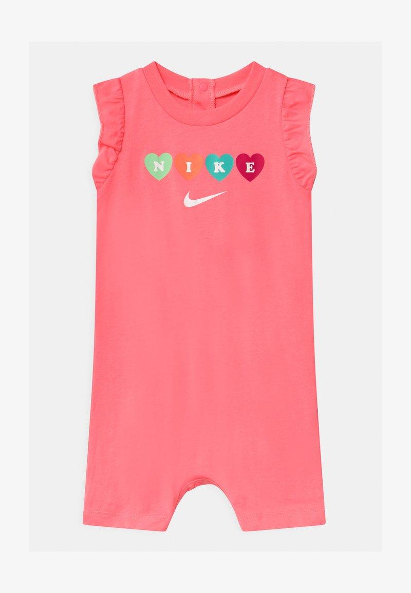 Nike Sportswear - RUFFLE SLEEVE  - Jumpsuit - sunset pulse