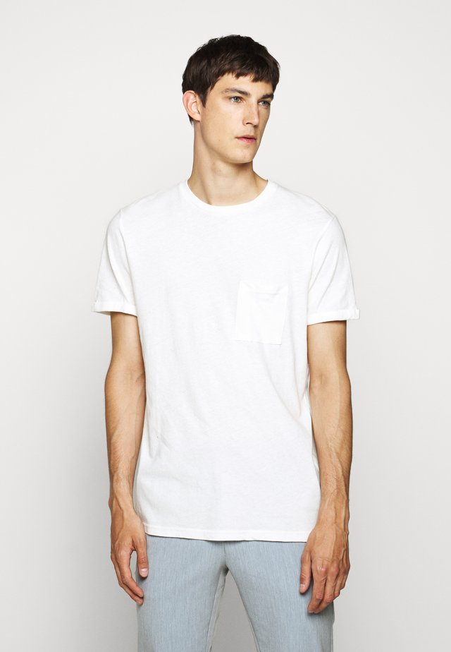 BRENON - T-shirt basique - offwhite