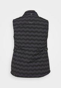 Ragwear Plus - HESTY - Veste sans manches - black - 2
