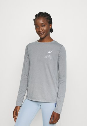FUJI TRAIL TEA - Maglietta a manica lunga - graphite grey