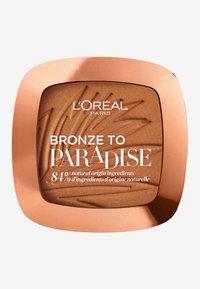 L'Oréal Paris - BRONZE TO PARADISE - Bronzer - back to bronze - 0