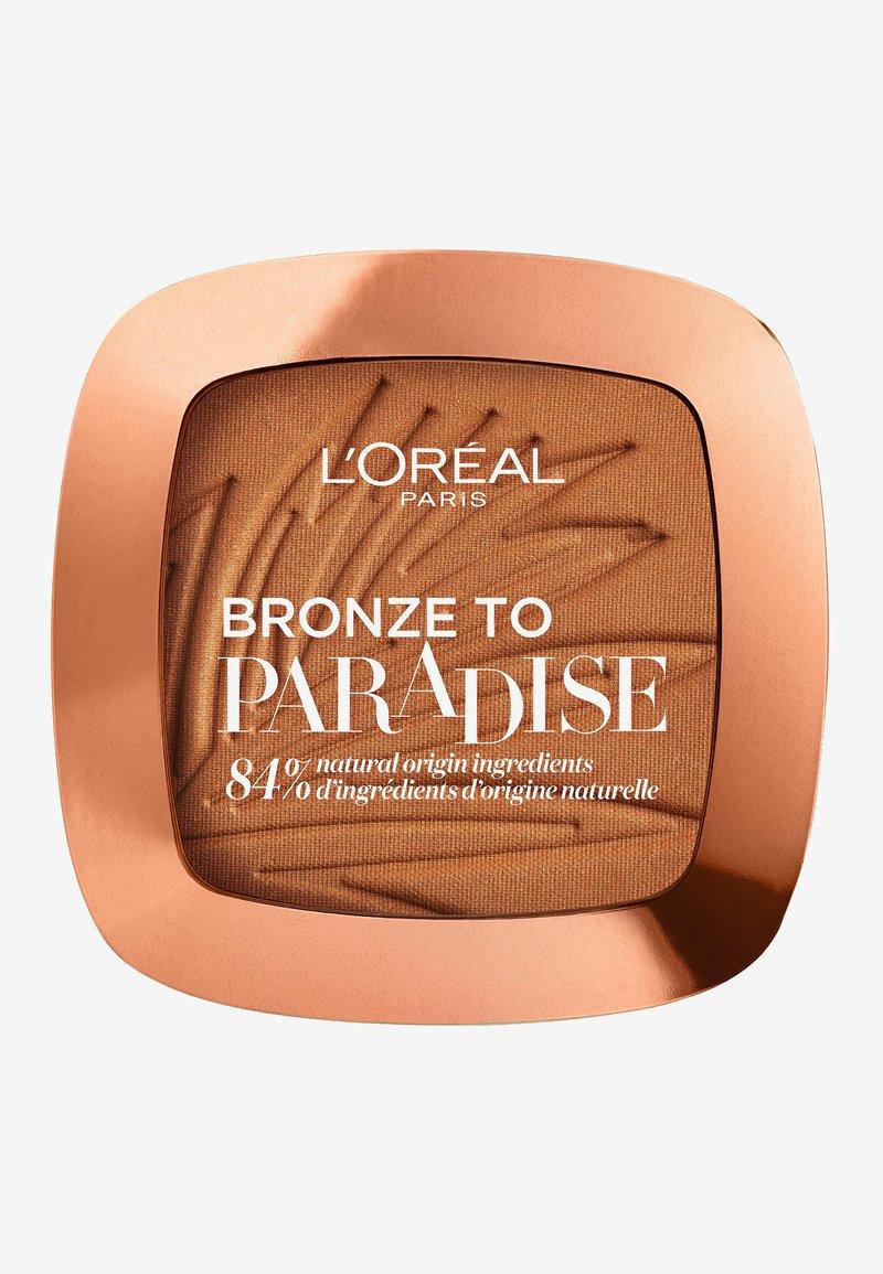L'Oréal Paris - BRONZE TO PARADISE - Bronzer - back to bronze