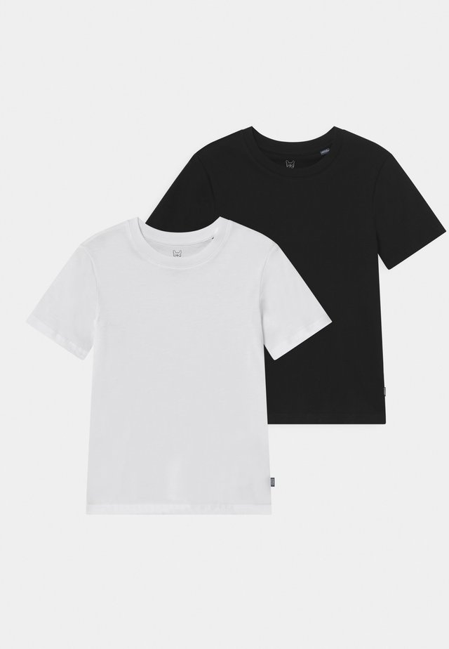 JJEORGANIC BASIC O-NECK 2 PACK - T-shirts - white