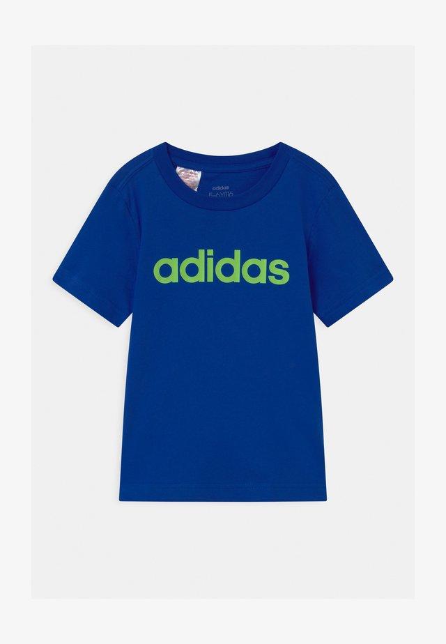 LIN UNISEX - T-shirt imprimé - team royal blue/signal green