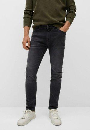 SKINNY  - Slim fit jeans - open grey
