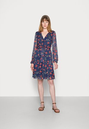 PRINTED DRESS - Sukienka letnia - blue/multi-coloured