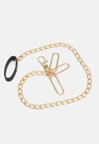 Pieces - PCSTELLA WAIST BELT - Waist belt - black/gold-coloured - 2