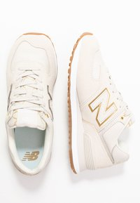 New Balance - WL574 - Matalavartiset tennarit - beige - 3