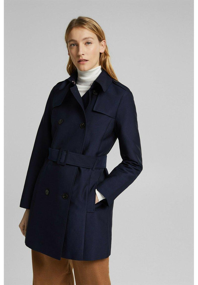 Esprit Collection - CLASSIC - Trenchcoat - navy