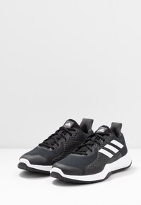 adidas Performance - FITBOUNCE - Trainers - core black/footwear white/grey six - 2