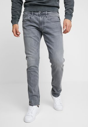 ANBASS - Jeans slim fit - medium grey