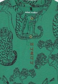 Mini Rodini - TIGERS GRANDPA UNISEX - Long sleeved top - green - 2