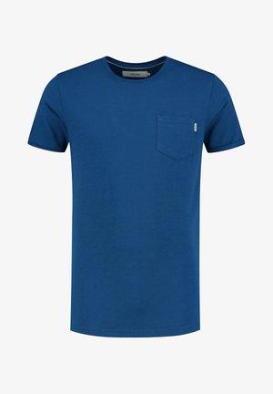 T-shirt print - poseidon blue
