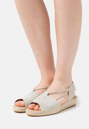 ADA - Platform sandals - aqua
