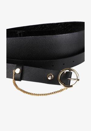 LEDERGÜRTEL  - Waist belt - schwarz