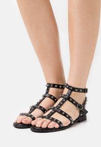KHARISMA - Sandals - soft nero - 0