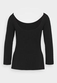 Anna Field - Long sleeved top - black - 7
