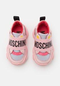 MOSCHINO - Trainers - light pink - 3