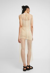 Weekday - MOMA DRESS - Maxi šaty - beige - 2