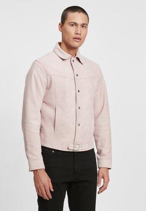 Leather jacket - light pink