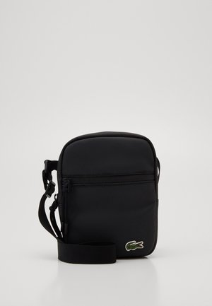 FLAT CROSSOVER BAG UNISEX - Across body bag - noir