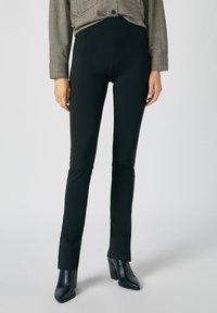 PULL&BEAR - Pantaloni - black - 0