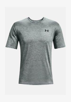 T-shirt med print - pitch gray
