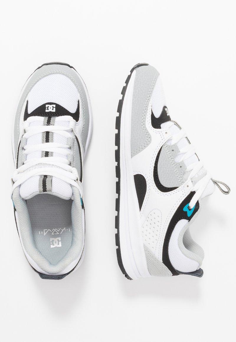 DC Shoes - KALIS LITE - Sneakers - grey/blue/white