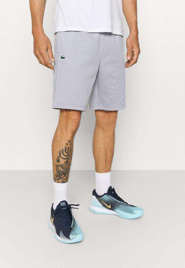 TECH SHORT - Pantalón corto de deporte - silver chine/elephant grey