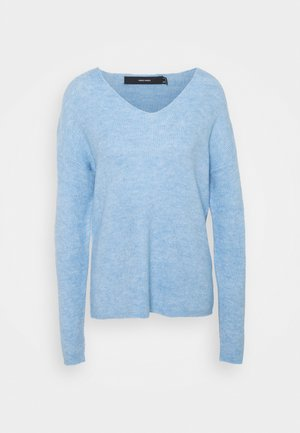 VMCREWLEFILE VNECK - Jumper - placid blue