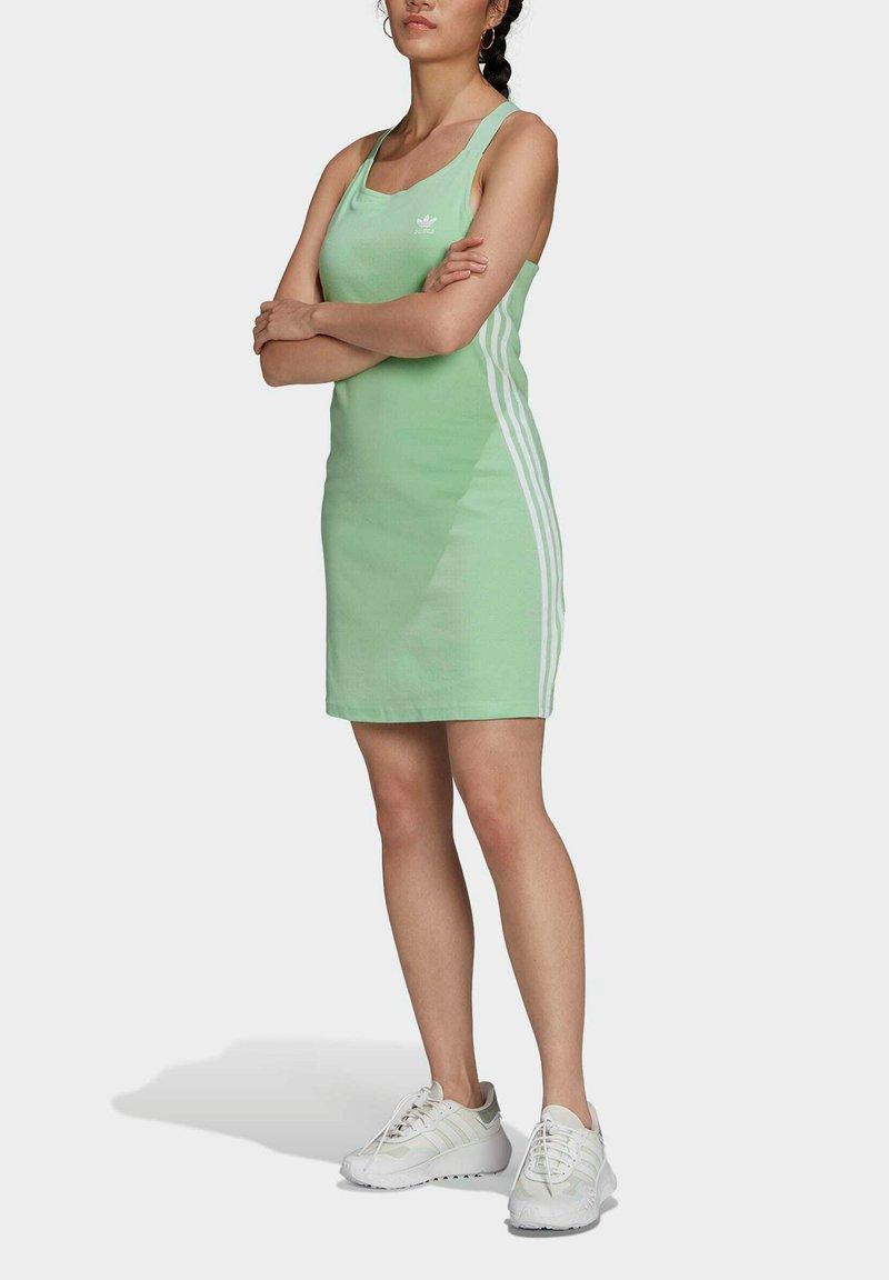 adidas Originals - ADICOLOR CLASSICS RACERBACK  - Jersey dress - green