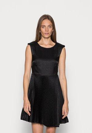 LONDON PLEATED DRESS - Cocktail dress / Party dress - black
