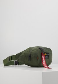 Alpha Industries - CREW WAISBAG - Bum bag - sage green - 4