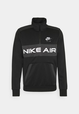 AIR - Sweatshirt - black/dark smoke grey/white