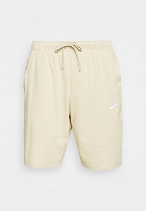 CLUB - Shorts - grain/white