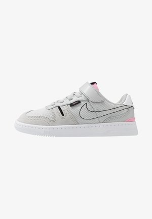 SQUASH-TYPE UNISEX - Trainers - grey fog/black/pink/white