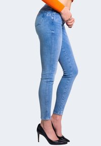 Guess - Jeansy Skinny Fit - blue denim - 3