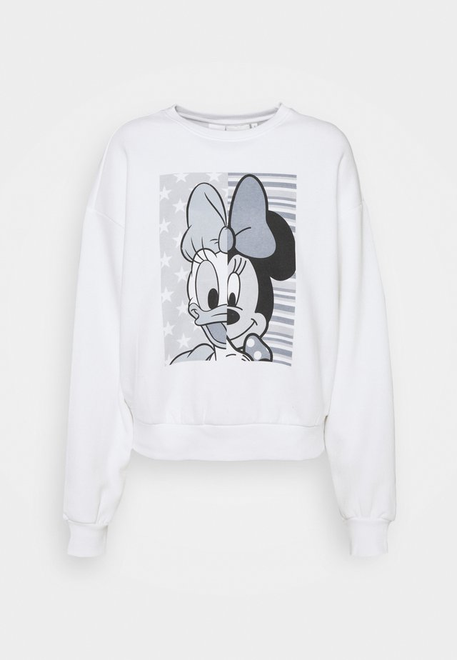 ONLDISNEY LIFE SPLIT - Felpa - bright white