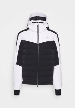 MEN SIGHT LINE JACKET - Kurtka narciarska - black/white
