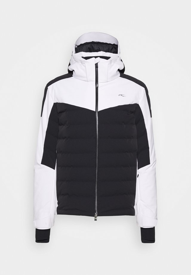 MEN SIGHT LINE  - Veste de ski - black/white