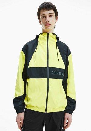 Training jacket - ck black/ yellow