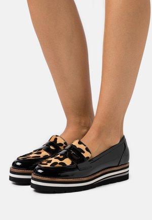 GRACELLE - Slip-ons - mottled light brown