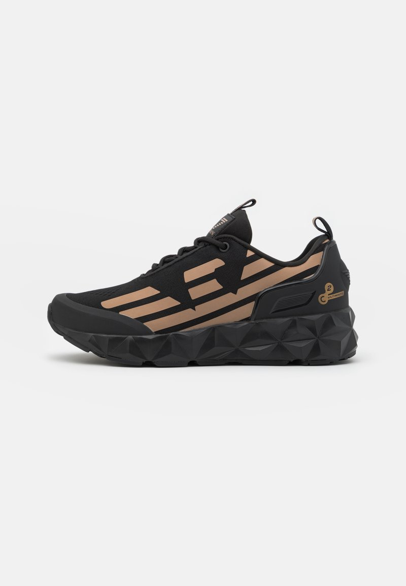 EA7 Emporio Armani - UNISEX - Sneakers basse - black/bronze