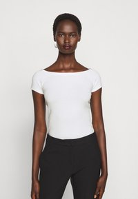 MAX&Co. - PRESIDE - Basic T-shirt - white - 0